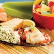 Image of Pan-fried Fish And Tomatoes With Cabbage Radish Slaw, Publix Super Markets
