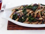 Image of Wild About Mushrooms Sauce With Whole Wheat Pasta, Arugula And Hazelnuts, Rachael Ray