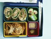 Image of Wa-s'up Tuna Salad Pinwheels (Bento Lunch Box), Rachael Ray