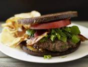 Image of Welsh Rarebit Burgers, Rachael Ray