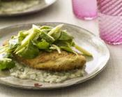 Image of Turkey Cutlets With Herb Gravy And Celery-Apple Salad, Rachael Ray