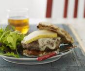Image of Winter White Burger, Rachael Ray