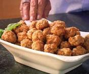Image of Sausage Balls With Sweet And Spicy Ketchup Dipping Sauce, Recipe.com