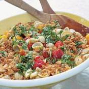 Image of Grilled Cherry Tomato Pasta With Crisp Breadcrumbs & Basil, Recipe.com