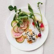 Image of Summer Radishes With Chevre, Nori, And Smoked Salt, Recipe.com
