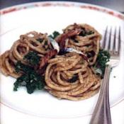 Whole Wheat Spaghetti with Anchovy Sauce