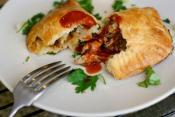 Chicken Empanadas with Chorizo and Olives