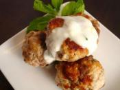 Spiced Lamb Meatballs with Lemon and Mint Yogurt Sauce