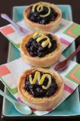 Sweet Melissa's Lemon Blueberry Buttermilk Pie