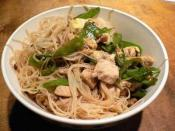 Charles Phan's Rice Noodles with Chicken