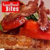 Image of Eggy Bread With Crisp Bacon And Spiked Tomatoes, UK TV