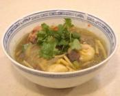 Image of Meatball Noodle Soup With Stuffed Pork Tang Yuan Dumplings, UK TV