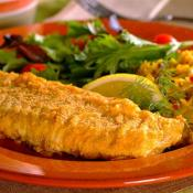 Image of Oven-fried Fish, Very Best Baking