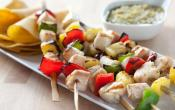 Image of Mahi Mahi Pineapple Skewers With Tomatillo Salsa, Wholefoods