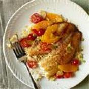 Image of Tilapia With Oranges, Tomatoes And Toasted Garlic, Womans Day