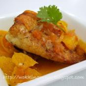 Image of Snapper With Orange And Tomato Sauce Recipe, Nibbledish