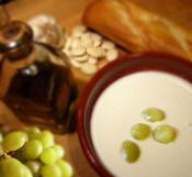 Image of Ajo Blanco (cold Garlic And Almond Soup) Recipe, Nibbledish