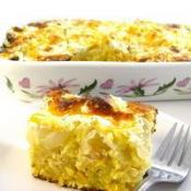 Image of The Most Decadent Cornbread Casserole Ever Made Skinny! Recipe, Cook Eat Share
