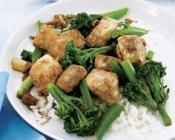 Image of Stir-Fried Ginger Fish With Broccolini, Liquor Control Board of Ontario