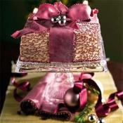 Image of Chocolate-vanilla Holiday Torte, MyRecipes