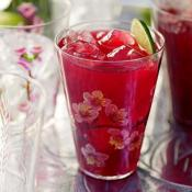 Image of Hibiscus Tea With Vodka And Citrus, Redbook Magazine