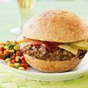 Image of Stuffed Greek Burgers, Dannon