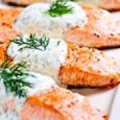 Image of Greek Salmon, Dannon