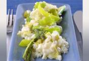 asparagus And Leek Risotto