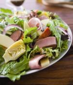 Image of Zesty Antipasto Salad With Herbed Vinaigrette, Hormel