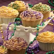 King Cake Cupcakes