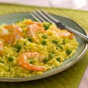 Image of Seared Shrimp Peas And Yellow Rice, Zatarains