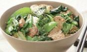 Wok-tossed Asian Greens With Pork