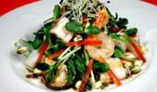 Warm Seafood &amp; Sprout Salad