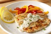 Image of Pan-fried Fish With Creamy Lemon Sauce For Two, Kraft Recipes