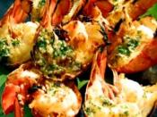 Image of Lobster W/macadamia Nut Butter, Cooking Hawaiian Style