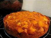 Upside-down Mango Cake