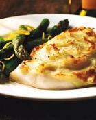Image of Garlic Roasted Cod With Mashed-Potato Crust, Food & Wine