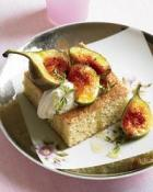 Image of Olive Oil-Thyme Cake With Figs And Black Pepper, Food & Wine