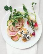 Image of Summer Radishes With Ch&#232;vre, Nori And Smoked Salt, Food & Wine