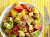 Image of Tomato Salad With Cheese Crisps, Food Network