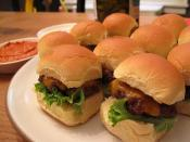 Image of Mini Burgers With Red Pepper Ketchup And 'Special Sauce', iVillage